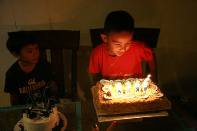 2008-08-28 Niko's Bday Party (Adoo too)