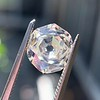 2.04ct Octagonal Flat Cut Diamond GIA K SI1 4