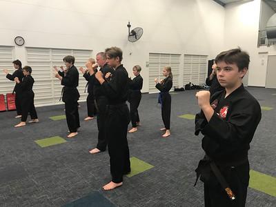 Combat Self Defence Grade Belt Assessments November 2020