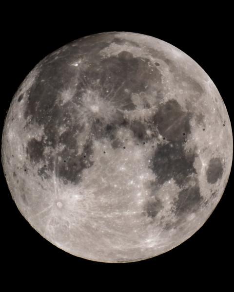 ISS Lunar Transit - 2018-07-27