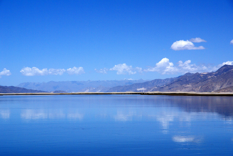 Yarlung Tsampo River near Samye ferry crossing.