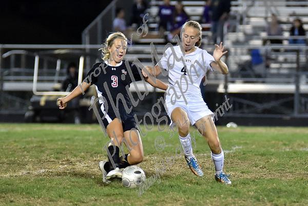 Berks Catholic vs Schuylkill Valley Girls High School Soccer 2014 - 2015