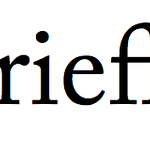 LaTeX wrong automatic cross-morpheme fl ligature in the word `briefly'