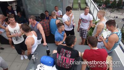 Brian & Donovan's Rooftop Pride Party (30 July 2011)
