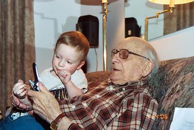 2006 great grandpa & family