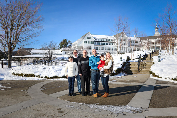 Family Photos at The Sagamore Resort in Bolton Landing 1/27/18