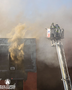 8th Alarm OMD Fire - 89-11 34th Ave, Queens, NY - 4/6/21