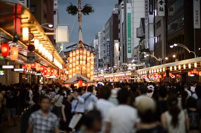 Shijo Street, Gion Matsuri - image copyright Jeffrey Friedl