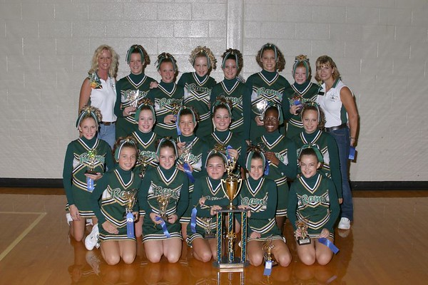 1st Place 7th Grade Cheer-off Champions