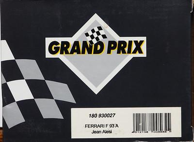 1993 #5 Benetton B193 Michael Schumacher (Wrong Box)