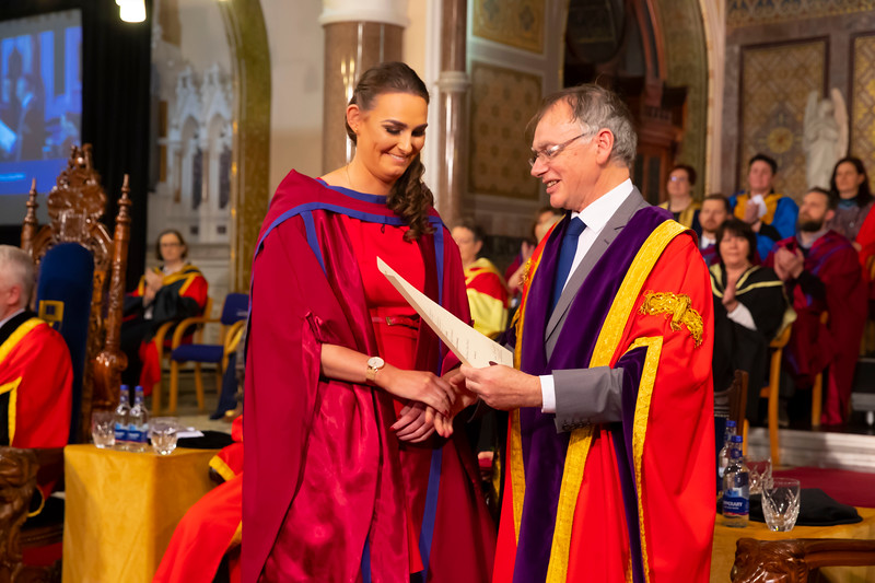01/11/2019. Waterford Institute of Technology (WIT) Conferring Ceremonies. Picture: Patrick Browne