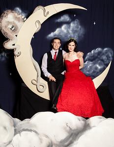 Bit & David's Wedding Moon Booth!