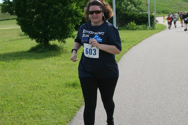 Riverfront Run 8 Jun 2019 Finish 9:41-9:51am