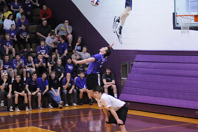 2014 Varsity Volleyball vs. St. Xavier (4/25/2014)