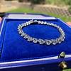10.50ctw Round Brilliant Diamond Tennis Bracelet 37