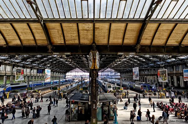 Paris : La gare de Lyon