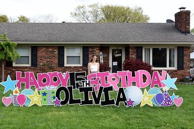 Olivia's 15th Birthday