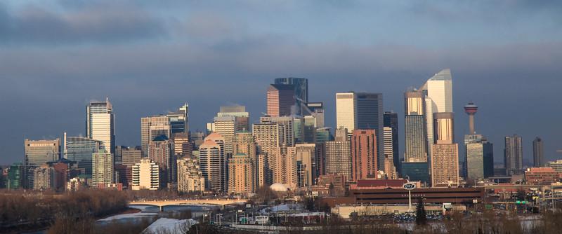 Calgary Spring 2014 Skyline