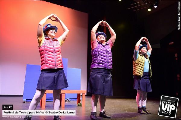 festival de Teatro para Ninos @ Teatro De La Luna | Sat, Jan 17