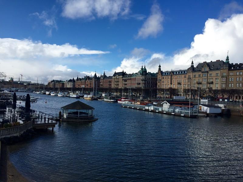Harbor in Stockholm