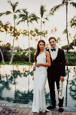 Sarah + Chris // Mauna Lani Wedding