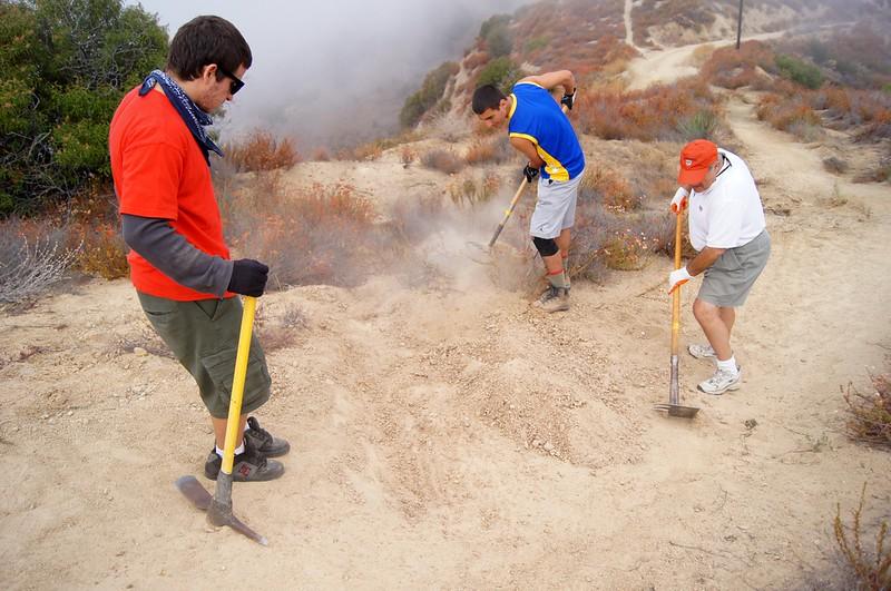 20110911031-Eagle Scout Project, Steven Ayoob, Verdugo Peak.JPG
