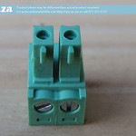 SKU: AE-BLOCK/350/2, Green Connector 3.5mm Pitch 2 Way Pluggable Terminal Block, 2Pin PCB Cable Plug in Screw