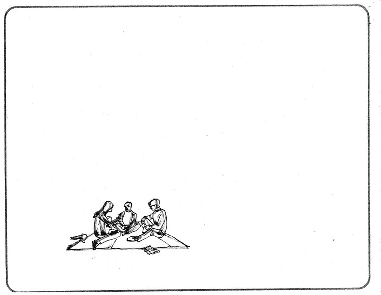 1971, Blanket Drawing