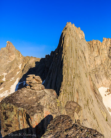 Climbing the Cirque of the Towers, WY