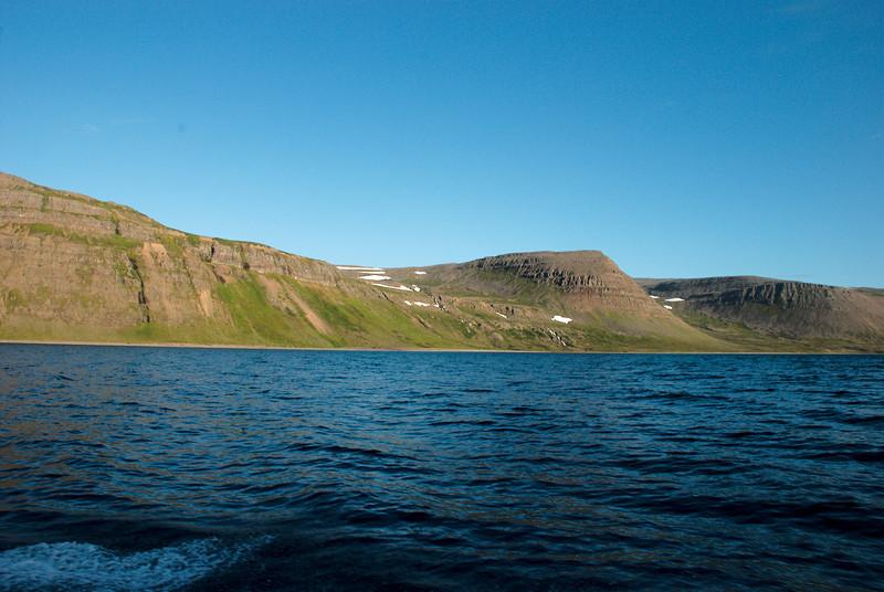 Djúpuhlíðarfjall, Ádalir, Mórilluhorn, Bæjardalur og Bæjarhorn.