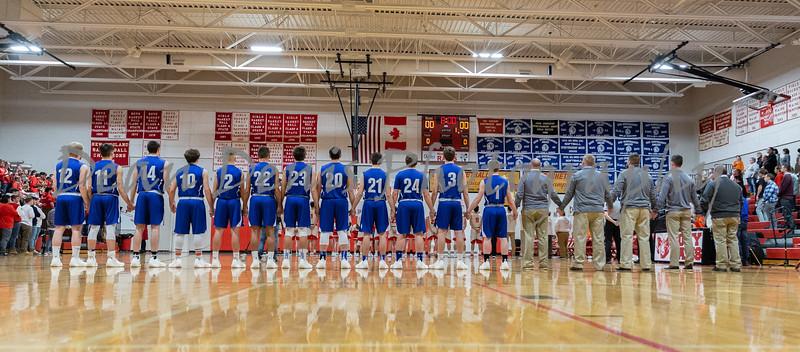 Lawrence Varsity Boys Basketball Vs Cony