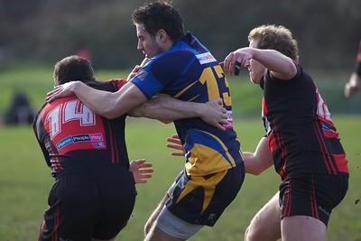 Cheltenham Rugby V Old Centralians - 16th Feb 2013