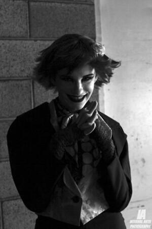 Katherine Angle as Rule 63 Lady Joker @ WonderCon 2013