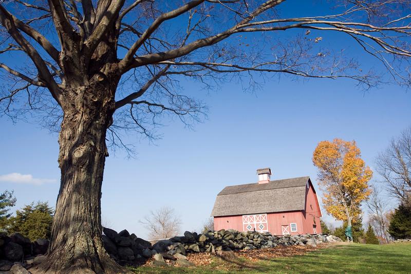 Old Barn of Ambler Farm, Wilton, CT, USA