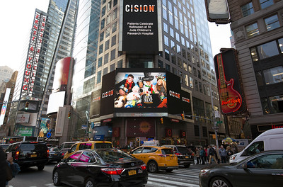 Times Square and Press Release images