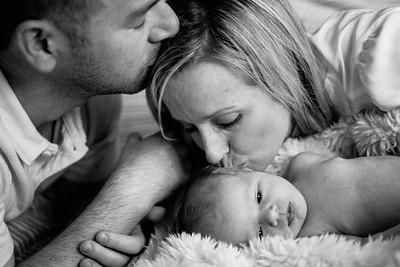 Meghan + Kevin  Newborn Baby