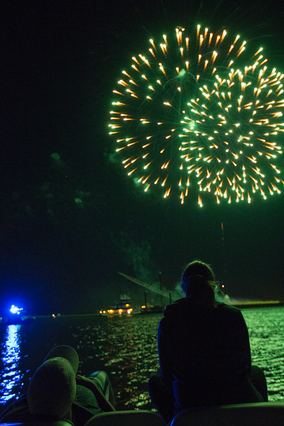 Fireworks from Boat 1