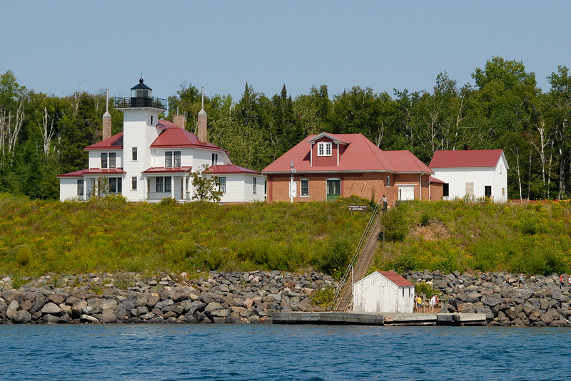 Rasberry Island Light, Lake Superior