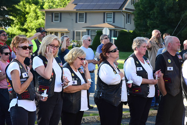 Vigil for motorcycle accident - 070819