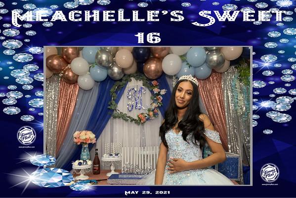 MEACHELLE SWEET 16 BIRTHDAY PARTY