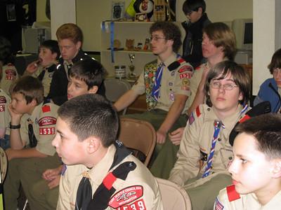 Troop Meeting - Nov 19
