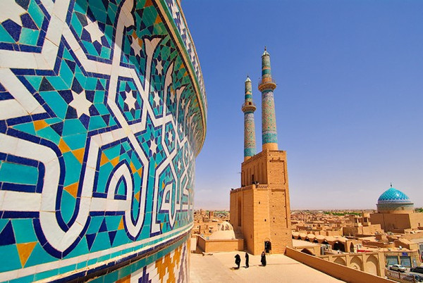 The beauty of Iran ancient architectural details