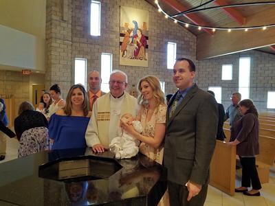 Bennett's Baptism 2018