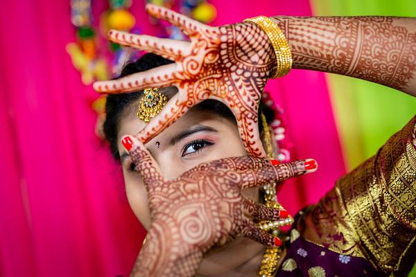 Meghana's Half-Saree Ceremony