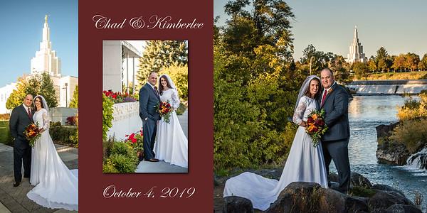 Kimberlee and Chad wedding album