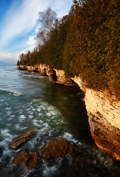 Sunrise Surf II - Cave Point County Park (Door County - Wisconsin)