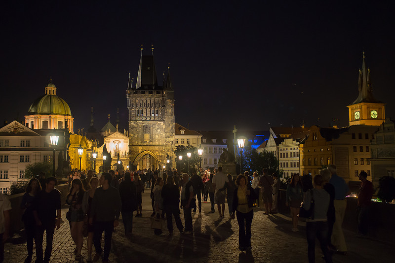 Charles Bridge walk, Prague