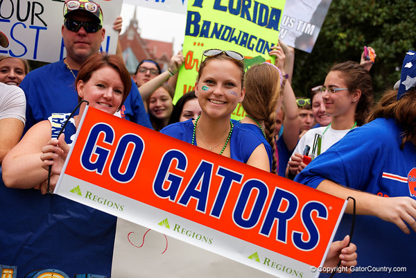 SEC Nation and Gator Walk Gallery  9-26-2015