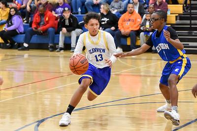 1107 Basketball Glenview vs Edison 8th Grade