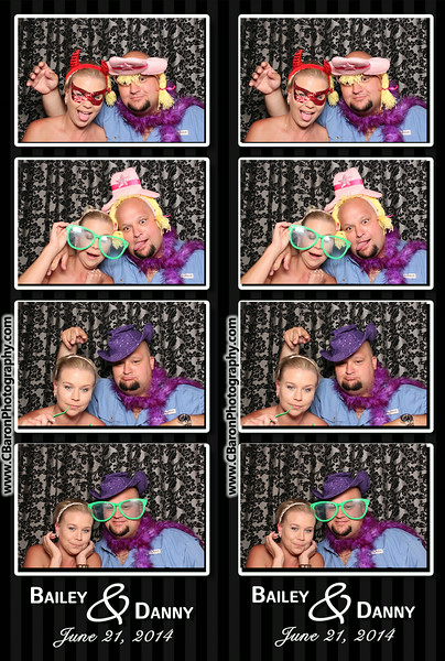 Bailey + Danny Swanky Photobooth